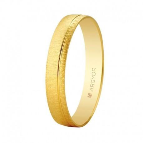 Alianza Argyor gota oro amarillo ref. 5135473 texturizada
