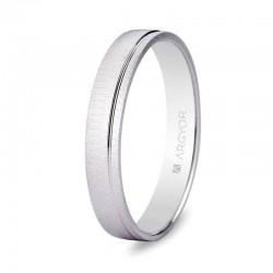 Alianza Argyor plata texturizada surco ancho 3,5mm ref-5735473. Entrega 24/48h