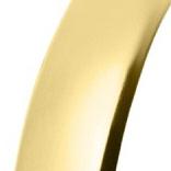 alianza oro amarillo acabado brillo espejo