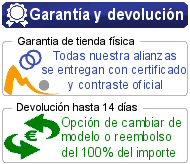 Nuestra Garantía y devolucón